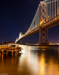 "San Francisco Bay Bridge at New Year's Eve • <a style=""font-size:0.8em;"" href=""http://www.flickr.com/photos/41711332@N00/15985932519/"" target=""_blank"">View on Flickr</a>"