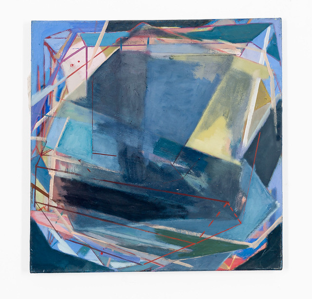 Veksler, 60 x 60 cm, Eggtempera/oil/Pigments, 2014, (2.100€)