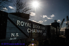 Train Wagon Royal Dockyard Chatham