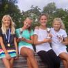 Lycke, Catja, Rebecca och Philippa.