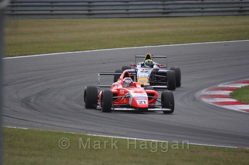 Rafael Martins in British Formula 4 during the BTCC 2016 Weekend at Snetterton