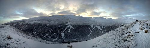 Dawn over Cairn Gorm Ski Centre