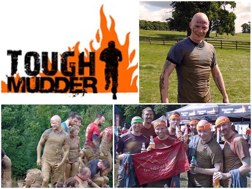 Today is all about...Tough Mudder