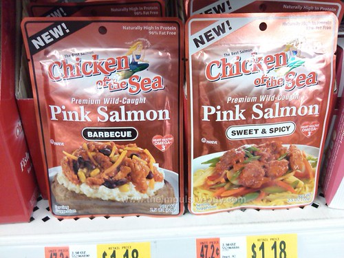 Chicken of the Sea Pink Salmon (Barbecue and Sweet & Spicy)