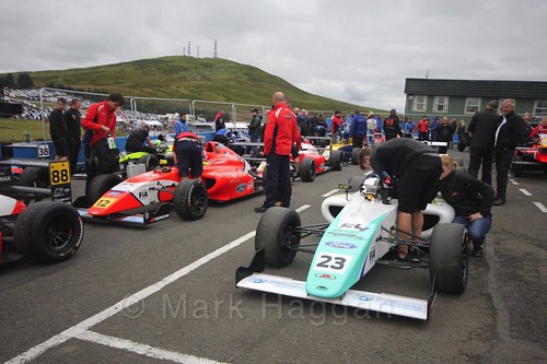 British Formula Four at the Knockhill BTCC Weekend, August 2016