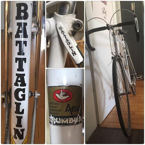 Schneewittchen Biancaneve — #Snow #White  Mein neues #Rennrad, ein Columbus Aelle von #Battaglin aus #Italien