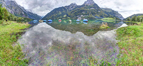 "Klöntalersee HDR Panorama • <a style=""font-size:0.8em;"" href=""http://www.flickr.com/photos/91619724@N04/15769860074/"" target=""_blank"">View on Flickr</a>"