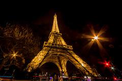 Tour Eiffel (Paris) - Night Shots