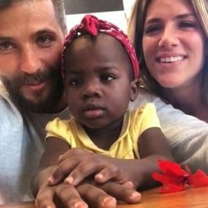 Gagliasso e Giovanna vibram com apresentação de país africano na Olimpíada