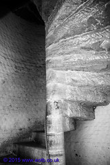 Spiral Staircase at Dover Castle