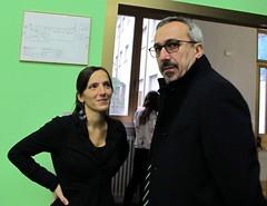 CHIARA BEZZI di BE-MA e ANDREA BASSO di FUJIFILM