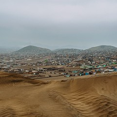 Enter Lima. The eight million man sprawl begins. #theworldwalk #travel #peru