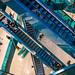 Emporias blåa trappor
