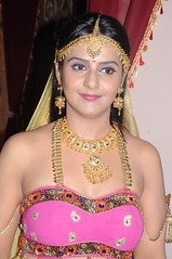 South Actress CHARULATHA Hot Photos Set-2- at Sri Ramanujar film shooting (19)