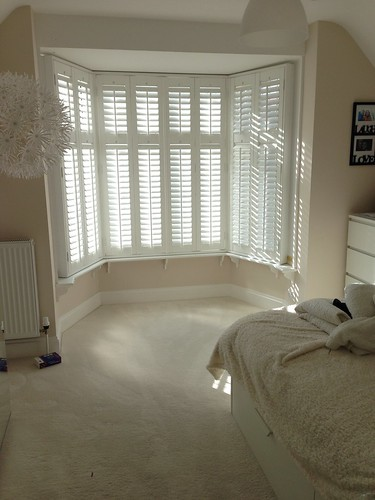Bay window Shutters in Frinton on Sea, Essex