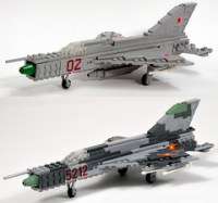 The World's most recently posted photos of lego and mig21 ...