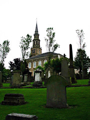 """Irvine Old Parish Church Viewed from the South West (2003) • <a style=""""font-size:0.8em;"""" href=""""http://www.flickr.com/photos/36664261@N05/16385177562/"""" target=""""_blank"""">View on Flickr</a>"""