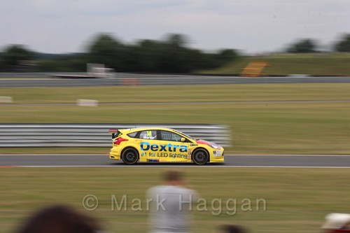 Alex Martin in Touring Car action during the BTCC 2016 Weekend at Snetterton