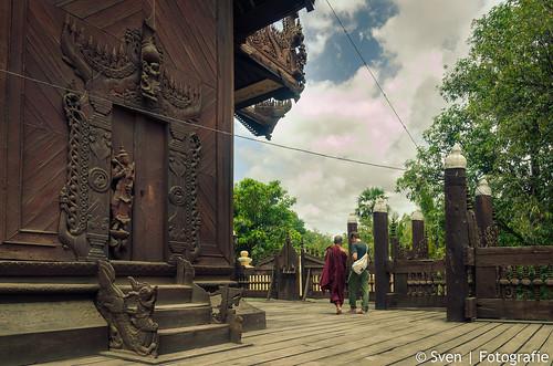 Historical Wooden Tempel