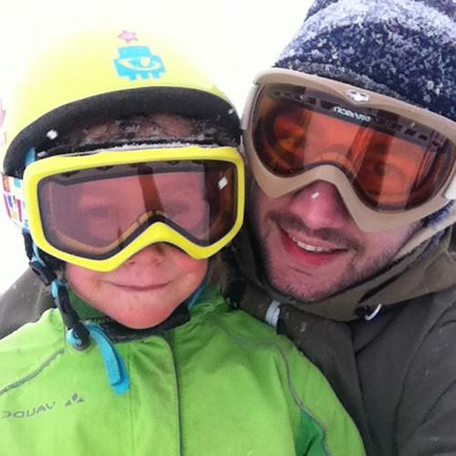 #Ski fahren mit dem Neffen in #Menzenschwand #Schwarzwald #blackforrest