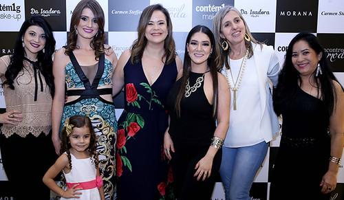 Amanda, Vanessa, Érika, Nayane, Zilma e Joana