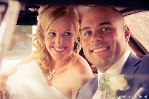 Trouwen Niels en Monique