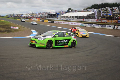 Stewart Lines on the grid during the BTCC Knockhill Weekend 2016