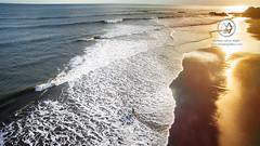 Views over the surfing beach of Balian Beach.