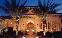 Custom Luxury Home - exterior-nite