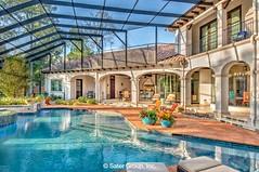 Almería pool to the cabana