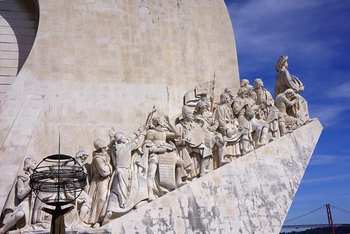 Lisbonne - Belem - Padrão dos Descobrimentos