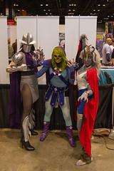 "Shredder, Skeletor #cosplay #C2E2 2015 • <a style=""font-size:0.8em;"" href=""http://www.flickr.com/photos/33121778@N02/17281762382/"" target=""_blank"">View on Flickr</a>"