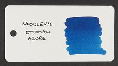 Noodler's Ottoman Azure - Word Card