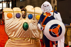 "Infinity Gauntlet #cosplay #C2E2 2015 • <a style=""font-size:0.8em;"" href=""http://www.flickr.com/photos/33121778@N02/17295702511/"" target=""_blank"">View on Flickr</a>"