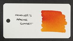 Noodler's Apache Sunset - Word Card
