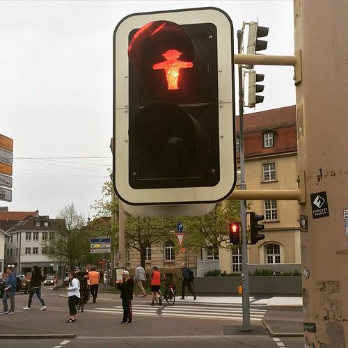 #Ampelmännchen #Ost und #West in #Esslingen