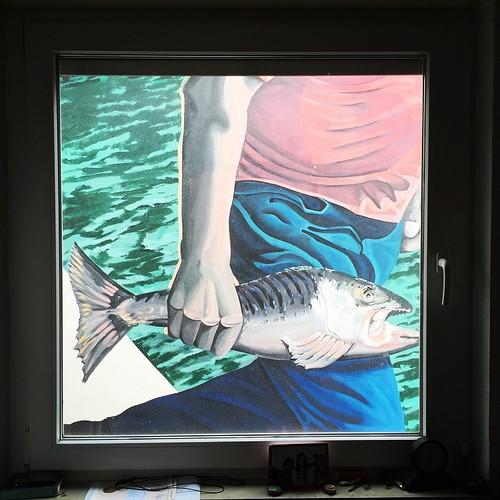 #Fenster #Fisch  #0711 #Stuttgart