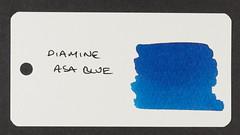 Diamine Asa Blue - Word Card