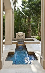 European Home by Dan Sater ornate pool