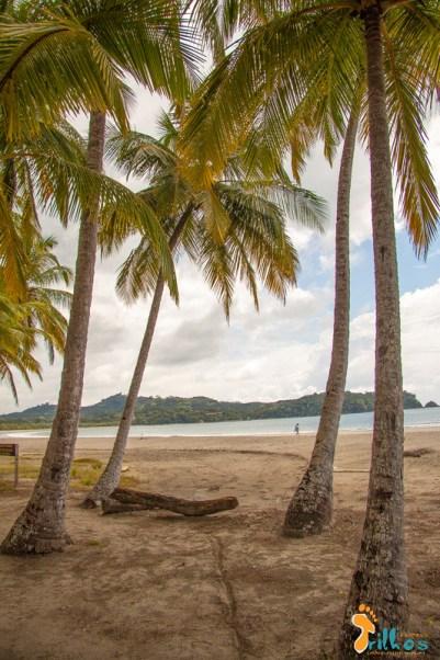 Playa Carrillo, na província de guanacaste