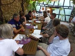 "Meeting in den Rieslingstuben • <a style=""font-size:0.8em;"" href=""http://www.flickr.com/photos/91989086@N06/28676788105/"" target=""_blank"">View on Flickr</a>"