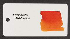 Noodler's Habanero - Word Card