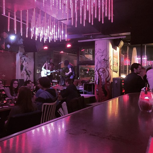 Al & Jay mit akustischer #Gitarre im #Sanchez #0711 #Stuttgart \m/