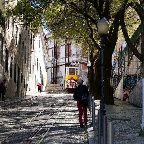 Lisbonne - Elevador da Glória