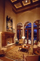 Custom Luxury Home - Living room