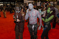 "Guardians of the Galaxy try to call Ronan on his phone C2E2 2015 • <a style=""font-size:0.8em;"" href=""http://www.flickr.com/photos/33121778@N02/17093600160/"" target=""_blank"">View on Flickr</a>"