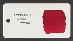 Noodler's Widow Maker - Word Card