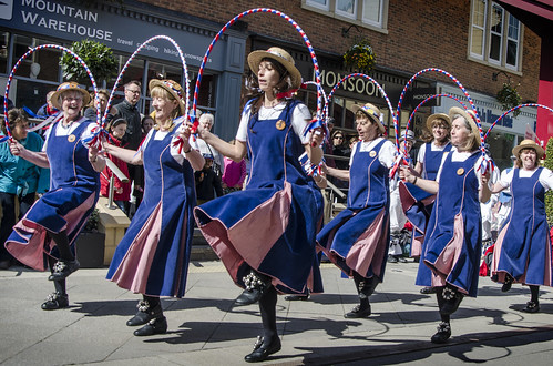 Hexhamshire Lasses in Morpeth, Northumberland