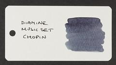 Diamine Music Set Chopin - Word Card