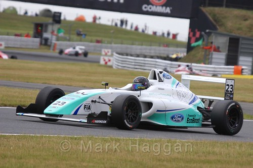 Billy Monger in British Formula 4 during the BTCC 2016 Weekend at Snetterton